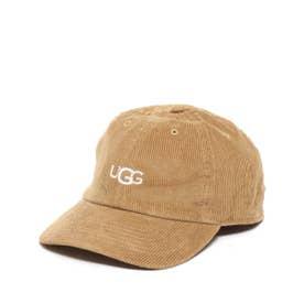 LOGO CORDUROY 6 PANEL CAP (BEIGE)