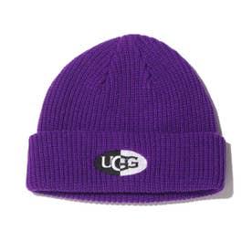 ハーフロゴ WATCH CAP (PURPLE)