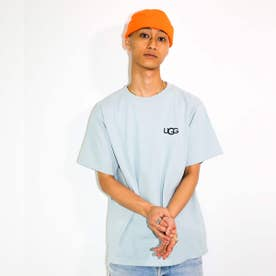 ロゴ刺繍 Tシャツ (BLUE)