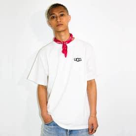 ロゴ刺繍 Tシャツ (WHITE)