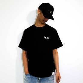 ロゴ刺繍 Tシャツ (BLACK)