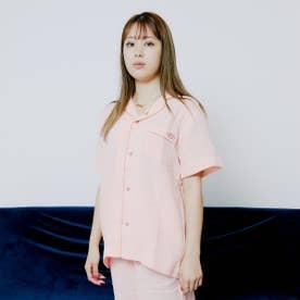 ダブルガーゼ パイピングシャツ (PINK)