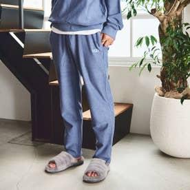 リバースロゴ刺繍 スウェットパンツ (BLUE)
