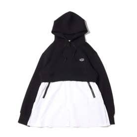 ドッキングフーディーシャツ (BLACK)