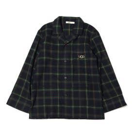 フランネルチェックシャツ (GREEN)