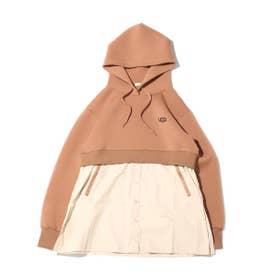 ドッキングフーディーシャツ (BROWN)