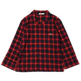 フランネルチェックシャツ (RED)