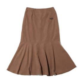 マーメイドロング スカート (BROWN)