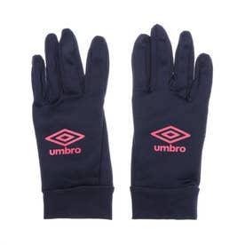 メンズ サッカー/フットサル 防寒手袋 フイールドプレイヤーグローブ UUAQJD52 (ネイビー)