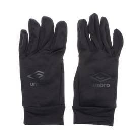 メンズ サッカー/フットサル 防寒手袋 フイールドプレイヤーグローブ UUAQJD52 (ブラック)