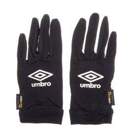 メンズ サッカー/フットサル 防寒手袋 レイグラブ UUAPJD00 (ブラック)
