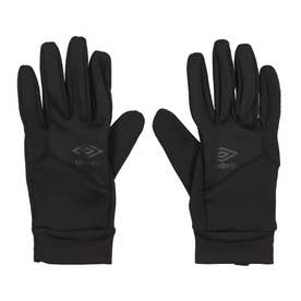 メンズ サッカー/フットサル 防寒手袋 フイールドプレイヤーグローブ UUASJD53 (ブラック)