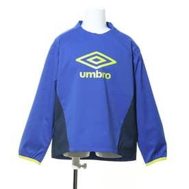 ジュニア サッカー/フットサル ピステシャツ JR エアサモーシヨンピステ UUJQJC39 (ブルー)