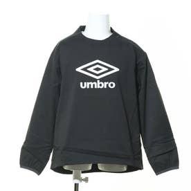 ジュニア サッカー/フットサル ピステシャツ JR エアサモーシヨンピステ UUJQJC39 (ブラック)