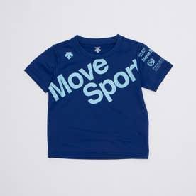 ジュニア 半袖機能Tシャツ ドライトランスファー 半袖Tシャツ DMJRJA50 (ブルー)