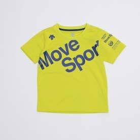 ジュニア 半袖機能Tシャツ ドライトランスファー 半袖Tシャツ DMJRJA50 (イエロー)