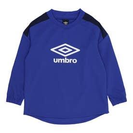 ジュニア サッカー/フットサル ピステシャツ JR テクニカルトツプ UUJRJF33 (ブルー)