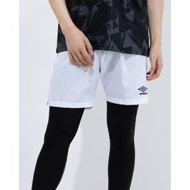 メンズ サッカー/フットサル パンツ TR プラクテイスウーブンパンツ UUUPJD81 (ホワイト)