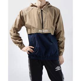 ウインドジャケット HE アノラツクパーカー ULUQJK33 (ベージュ)