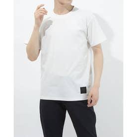 半袖機能Tシャツ HE ワンポイントTシヤツ ULURJA63 (ホワイト)