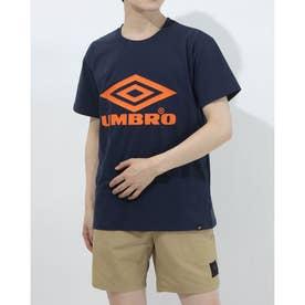半袖機能Tシャツ HE ビツグロゴTシヤツ ULURJA56 (ネイビー)