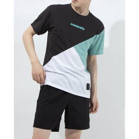 半袖機能Tシャツ HE カラーブロツクTシヤツ ULURJA59 (ブラック)