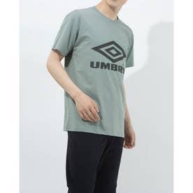 半袖機能Tシャツ HE ビツグロゴTシヤツ ULURJA56 (グリーン)