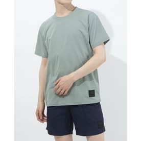 半袖機能Tシャツ HE ワンポイントTシヤツ ULURJA63 (グリーン)