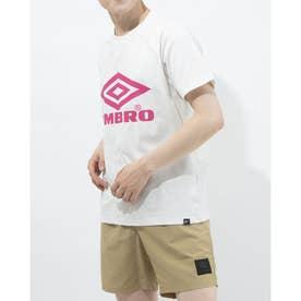 半袖機能Tシャツ HE ビツグロゴTシヤツ ULURJA56 (ホワイト)