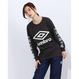 レディース 長袖機能Tシャツ WM L/Sコツトンシヤツ UMWQJB51 (グレー)