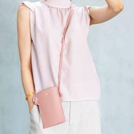レザーマルチケース (ピンク)