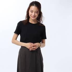 ヴィンテージランダムテレコTシャツ (ブラック)