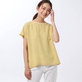 ノーブルキュプラコンビネーションTシャツ (イエロー)