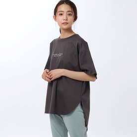 「L」マスタリーハイゲージスムースTシャツ (ディープグレー)