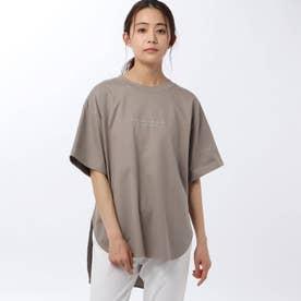 「L」マスタリーハイゲージスムースTシャツ (カーキ)