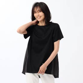 【WEB限定】バック切替デザイントップス (ブラック)