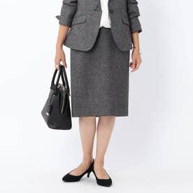グラシエシャークタイトスカート【洗える】 (ブラック)