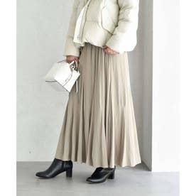 プラージュパウダークロス  フレアスカート【洗える】 (ライトベージュ)