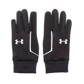 メンズ 陸上/ランニング グローブ UA Mens Run Liner Glove 1318571 (ブラック)