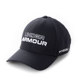 メンズ ゴルフ キャップ UA Jordan Spieth Tour Hat 1361545 (ブラック)