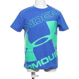 ジュニア 半袖機能Tシャツ UA Tech Branded Logo SS 1353546