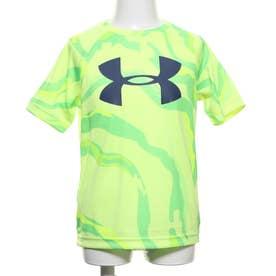 ジュニア 半袖機能Tシャツ UA Tech Big Logo Printed SS 1351851
