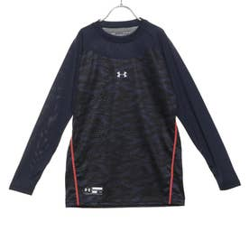ジュニア 野球 長袖アンダーシャツ UA Tech Youth Fitted Long Sleeve Crew Graphic 1354411
