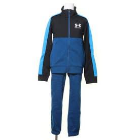 ジュニア ジャージ上下セット UA Color Block Knit Track Suit 1360671 (ブルー)