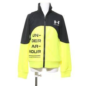 ジュニア 長袖ジャージジャケット UA Boys Track Jacket 1362689 (ブラック)