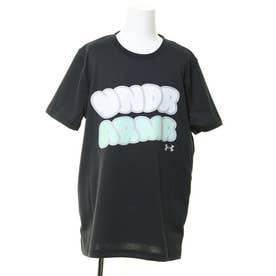 ジュニア バスケットボール 半袖Tシャツ UA Y TECH SS TEE 1359449 (ブラック)