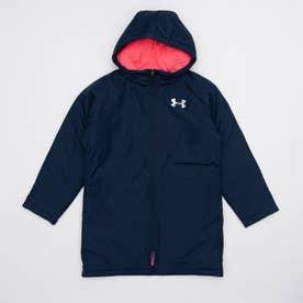 ジュニア ベンチコート UA Insulated Long Coat 1347322 (ネイビー)