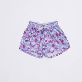 ジュニア スウェットクォーターパンツ UA Play Up Printed Shorts 1363371 (パープル)