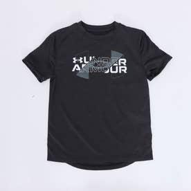 ジュニア 半袖機能Tシャツ UA Vented SS 1361777 (ブラック)