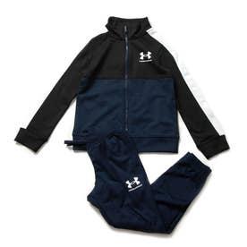 ジュニア ジャージ上下セット UA Color Block Knit Track Suit 1360671 (他)